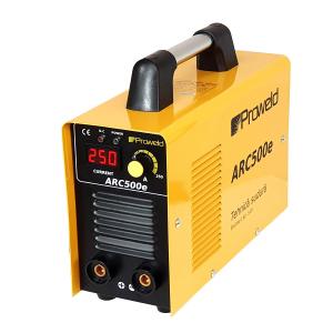 Aparat de sudura invertor ProWELD ARC500e, 20-250A, 9.5KvA, MMA, electrozi 1.6mm-5mm, bazici/rutilici/supertit1