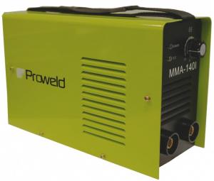Aparat de sudura invertor ProWELD MMA-140I, 20-120A, 5.5KvA, electrozi 2.5mm/3.2mm, bazici/supertit0