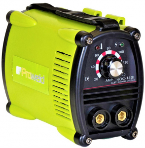 Aparat de sudura invertor ProWELD ROC-140I, 20-140A, 5.5KvA, electrozi 2.5mm/3.2mm, bazici/rutilici/supertit0