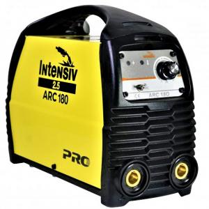 Aparat de sudura invertor Intensiv ARC 180 VRD, 10-180A, 8KvA, MMA/TIG, electrozi 1.6mm-4mm, bazici/rutilici/supertit