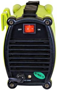 Aparat de sudura invertor ProWELD ROC-180I, 20-180A, 6.5KvA, electrozi 2.5mm-4mm, bazici/rutilici/supertit2