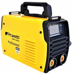 Aparat de sudura invertor ProWELD MMA160LCD, 10-160A, 5.5KvA, MMA/LiftTIG, electrozi 2.5mm-4mm, bazici/rutilici/supertit0