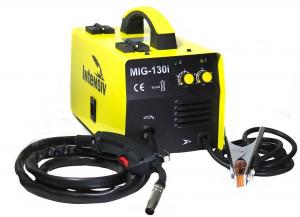 Pachet Aparat de sudura invertor Intensiv MIG 130i, 30-125A, MIG/MAG, sarma FLUX1