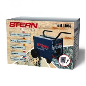 Aparat de sudura transformator Stern WM1-180C1, 60-180A, MMA, electrozi 2.5mm-4mm, rutilici/bazici/supertit [2]