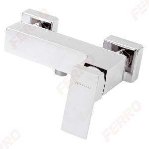 Baterie perete dus FERRO Edge 36061/1.0, crom fara accesorii0