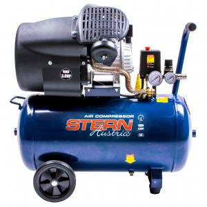 Compresor de aer Stern CO3050A, 50L, 8bar, 350L/min, 220V, angrenare directa1