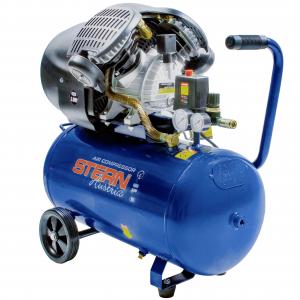 Compresor de aer Stern CO3050A, 50L, 8bar, 350L/min, 220V, angrenare directa0