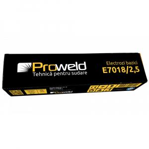 Electrozi bazici pentru sudura ProWELD E7018, 2.5mm/35cm, 90-120A, 5kg2