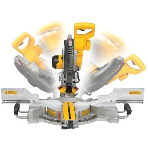 Fierastrau circular combinat de masa DeWALT DWS780, 1675W, 3800 rpm, 305mm1