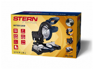 Fierastrau circular stationar Stern MS210D, 1400W, 4800 rpm, 210mm, Laser1