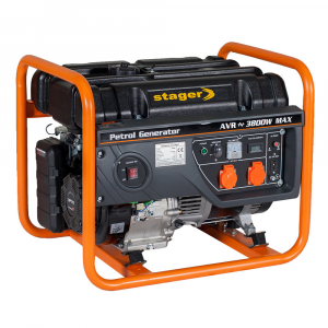 Generator curent electric pe benzina Stager GG 4600, 3.8KW, sfoara0