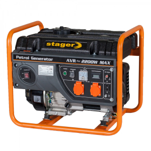 Generator curent electric pe benzina Stager GG 2800, 2.000 W1
