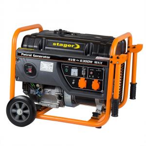 Generator curent electric pe benzina Stager GG 7300W, 5.8KW, sfoara1