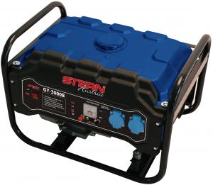 Generator curent electric pe benzina Stern GY3000B, 2.500/3000 W, 212cm3, 15L, 12 ore autonomie0