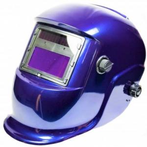 Masca de sudura automata Intensiv 9-13 Blue, reglabil, solar+baterie, 0.04ms, DIN16