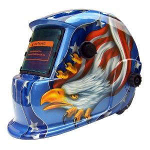 Masca de sudura automata Intensiv 9-13 Eagle, reglabil, solar+baterie, 0.04ms, DIN16