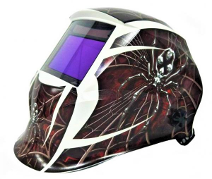 Masca de sudura automata Intensiv 9-13 Spider, reglabil, 4 senzori, solar+baterie, 0.04ms, DIN16