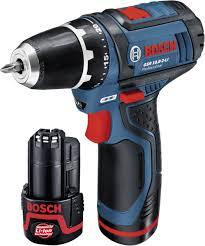 Masina de gaurit si insurubat (bormasina) Bosch GSR 10,8-2-LI, 10.8 V, 2 Ah, 30 Nm, 1 acumulator si incarcator [0]