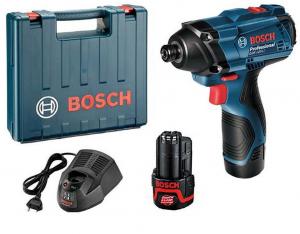 Masina de insurubat cu impact (bormasina) cu acumulator Bosch GDR 120-LI, 2600 RPM, 12V, 1.5 Ah0