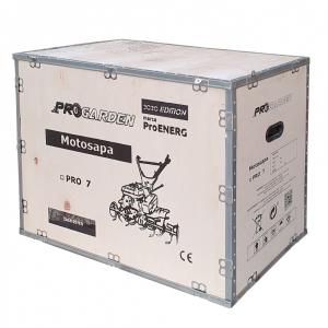 Motosapa benzina (motocultor) ProGARDEN PRO 7, 7CP, 85CM, roti, lame, discuri4