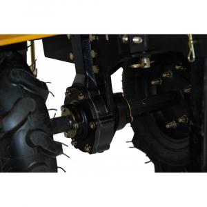 Motosapa benzina (motocultor) ProGARDEN HS1000B, 7CP, 110CM, roti, lame, discuri, plug, far [4]