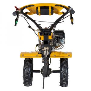 Motosapa benzina (motocultor) ProGARDEN HS1000B, 7CP, 110CM, roti, lame, discuri, plug, far [3]