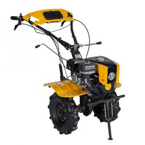 Motosapa benzina (motocultor) ProGARDEN HS1000B, 7CP, 110CM, roti, lame, discuri, plug, far [2]