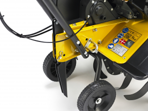 Motosapa benzina (motocultor) Texas Lilli 534TG, 5.6CP, 85CM, roti ajutatoare, lame2