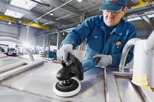 Masina de polisat (polish) Bosch GPO 14 CE, turatie variabila, 1400W, 180mm [1]