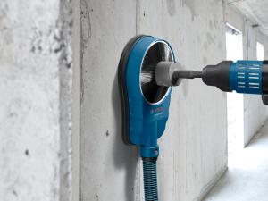 Sistem universal de extractie a prafului pentru gauri si carote Bosch GDE 162, max 162 mm2