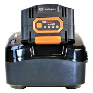 Pachet trimmer iarba cu acumulator (motocoasa) Redback EA314, 120V, 3Ah cu acumulator si incarcator rapid7