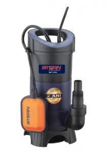 Pompa submersibila Stern WP1100A, 1100W, 266L/min, apa murdara, plutitor/flotor0