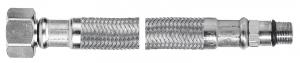 Racord flexibil pentru baterii FERRO WBS83, 1/2xM10x1, cu capat scurt L=70cm0