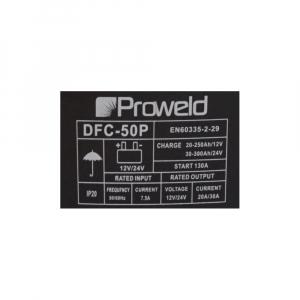 Redresor auto (robot de pornire) ProWELD DFC-50P, 12/24V, 300A MAX, 130A Demaraj2