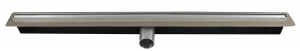 Rigola dus FERRO OLS1-65, inox Perfect Drain L= 650 mm, cu sifon DN40 incorporat0