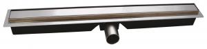 Rigola dus FERRO OLSP1-80, inox Slim Pro L= 800 mm, cu sifon incorporat DN400