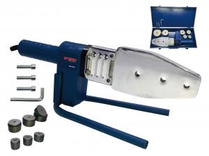 Plita lipit tevi polipropilena Stern PPW1000C, plita 800W, 6 bacuri 20-63mm0