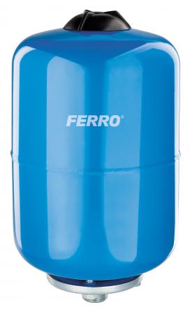 Vas expansiune suspendat vertical FERRO CWU24W-B, 24 litri, 16 bari pentru instalatii de climatizare si apa rece0