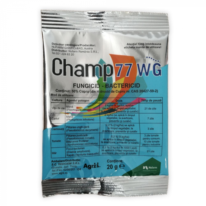 FUNGICID CHAMP 77 WG [0]