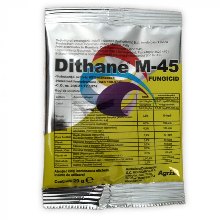 FUNGICID DITHANE M 45 0