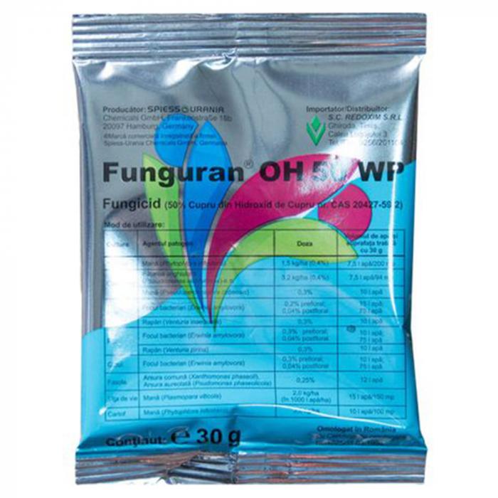 FUNGICID FUNGURAN OH 50 WP 0