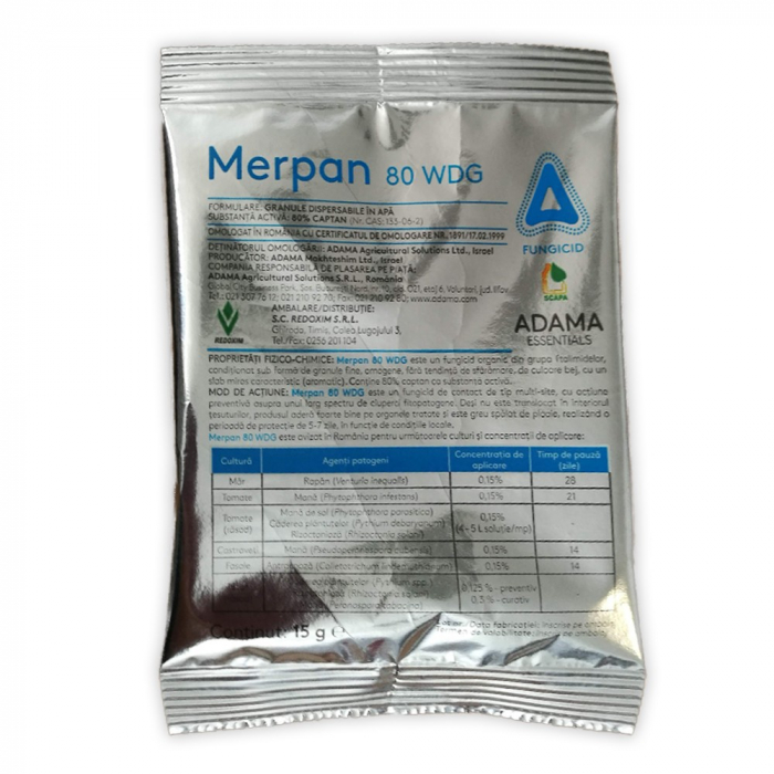 FUNGICID MERPAN 80 WDG 0