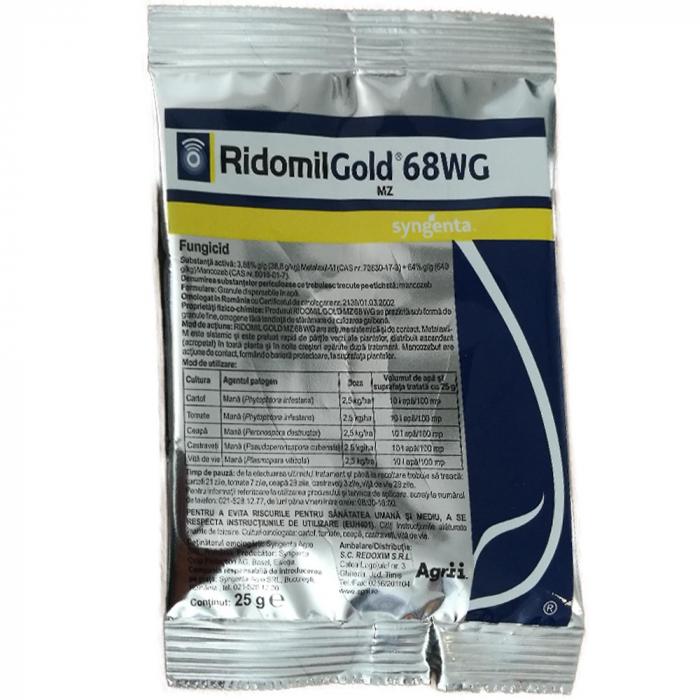 FUNGICID RIDOMIL GOLD MZ 68 WG 0