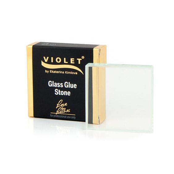 Glass Glue Stone Violet Lashes [0]