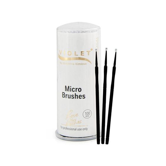 Micro Perii Set 100 buc  Violet Lashes [0]