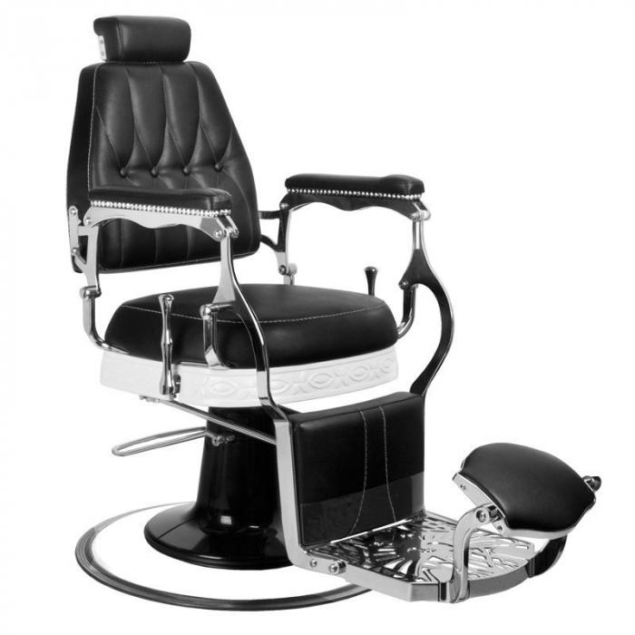 Scaun frizerie Lord Black [0]