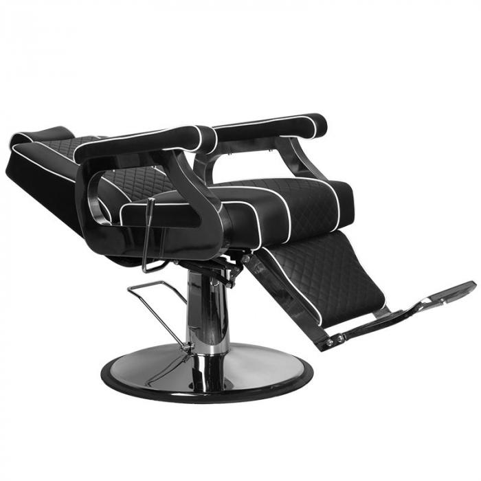 Scaun frizerie Paulo Black [1]