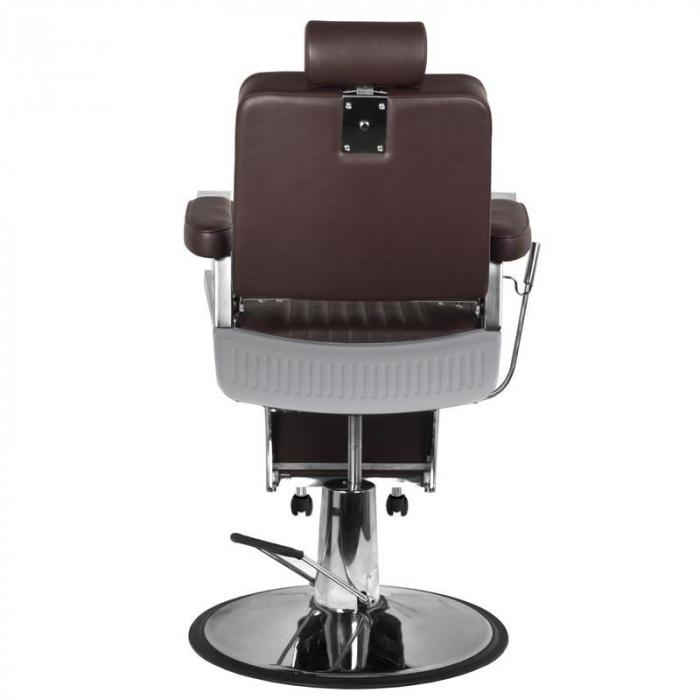 Scaun frizerie Royal  Brown [4]
