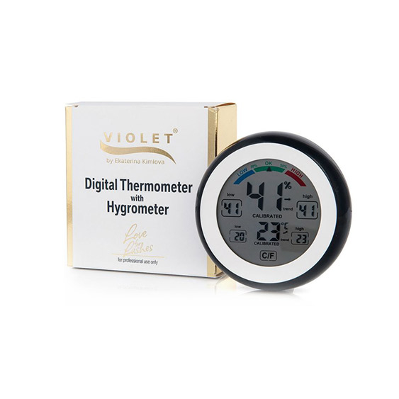 Termometru Higrometru Digital 200  Violet Lashes [0]