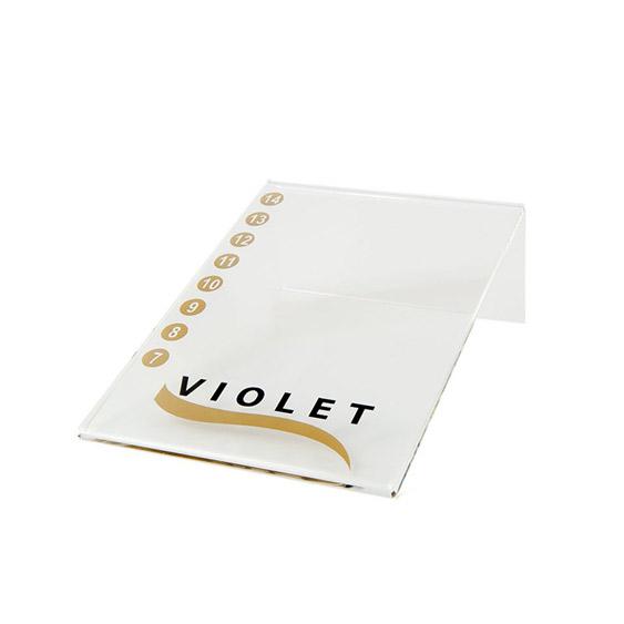 Violet Lashes Holder [0]